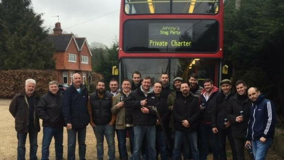 private corporate event bus hire