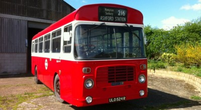 Cardinal buses for film and tv work