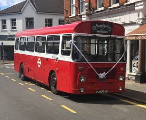 Bristol LH wedding bus
