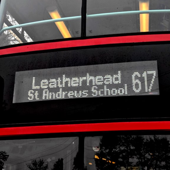 617 Banstead to St Andrews School icon