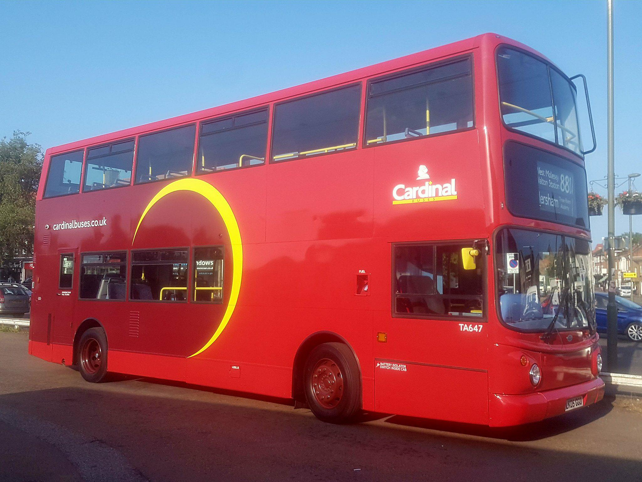 Reliable Bus Travel & Hire in Surrey and SW London - Cardinal Buses