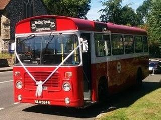 Bristol LH wedding bus image